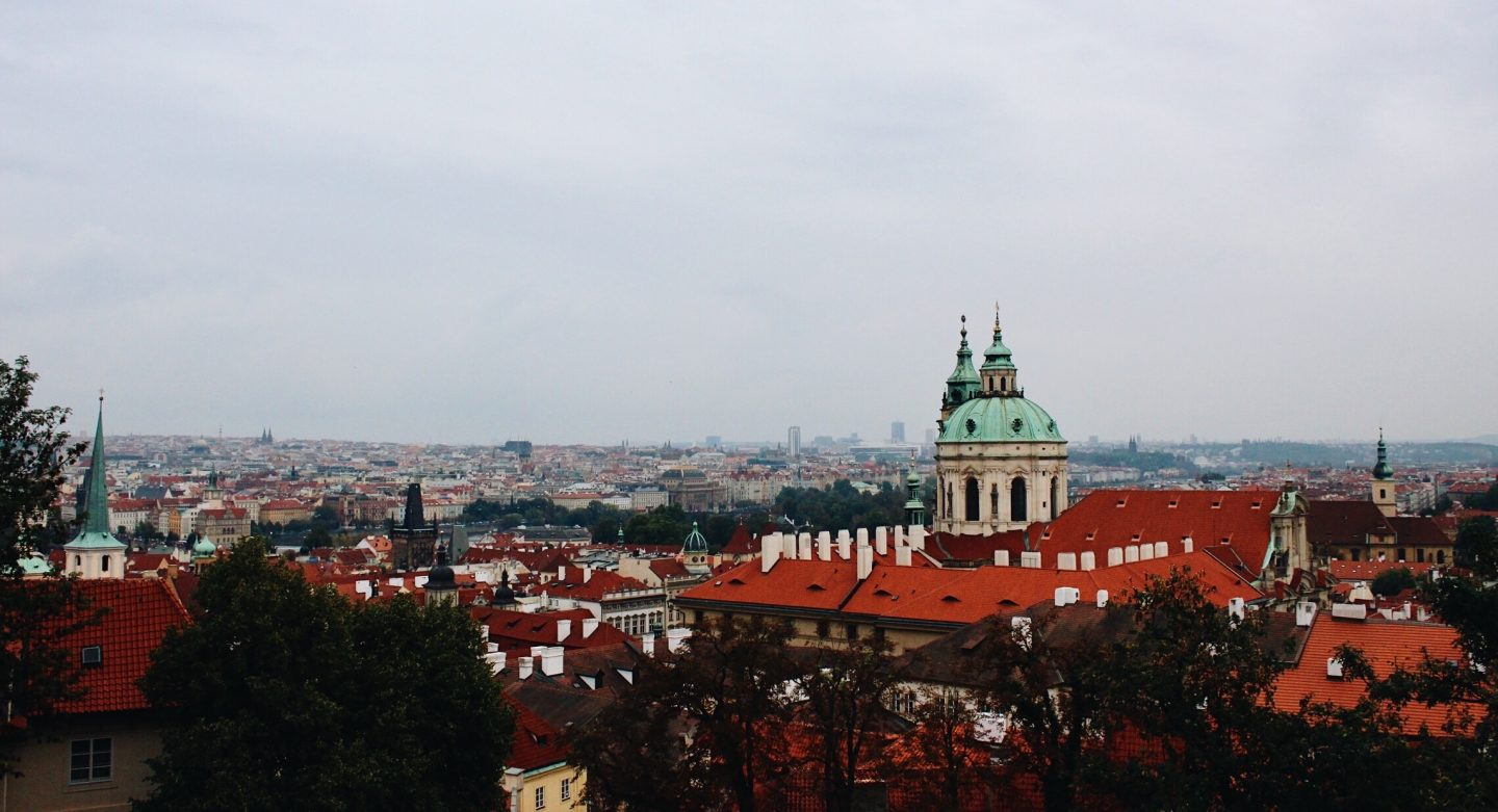 Photo of Prague from the Prague Castle!
