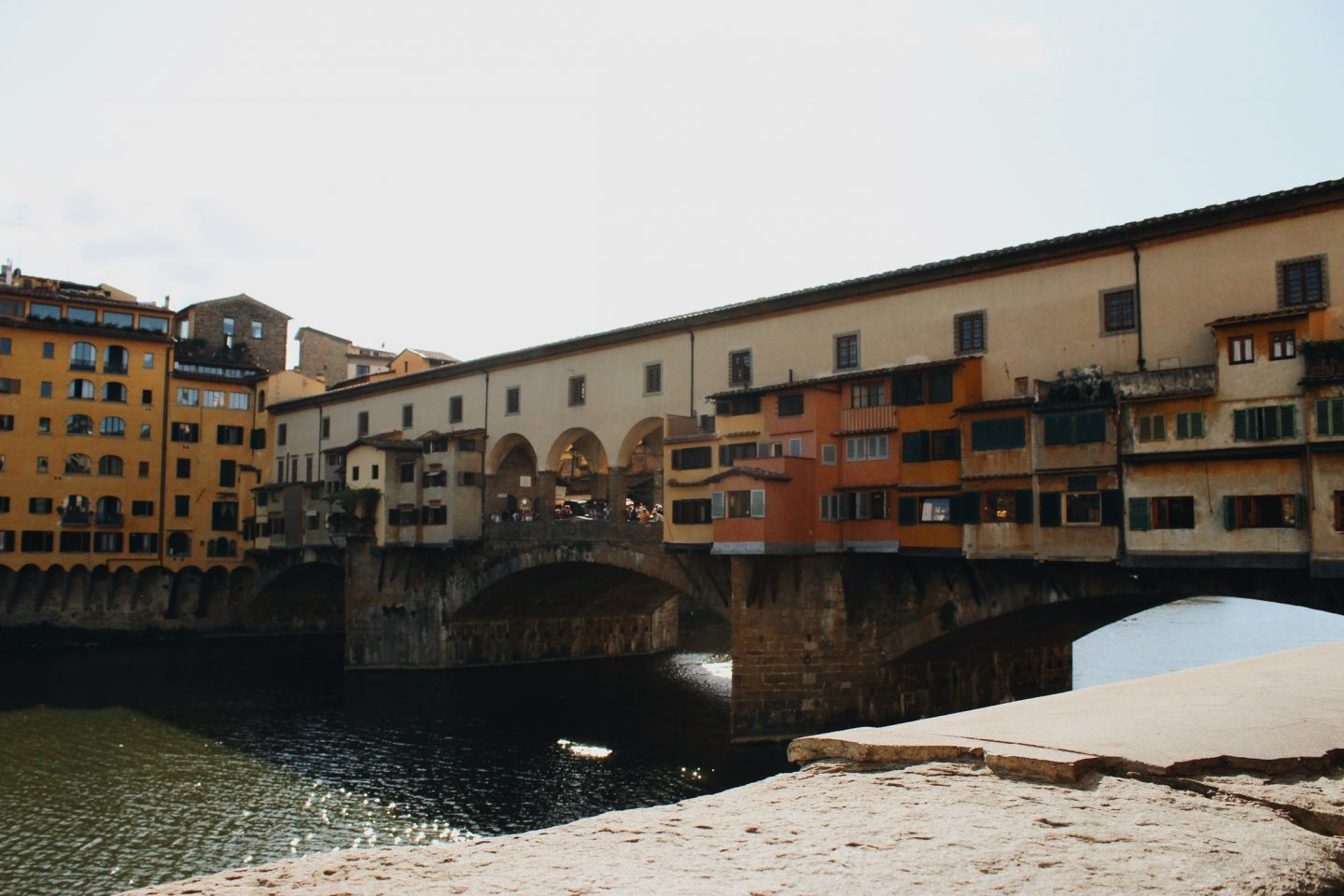 The Ponte Vecchio in Florence, Italy!