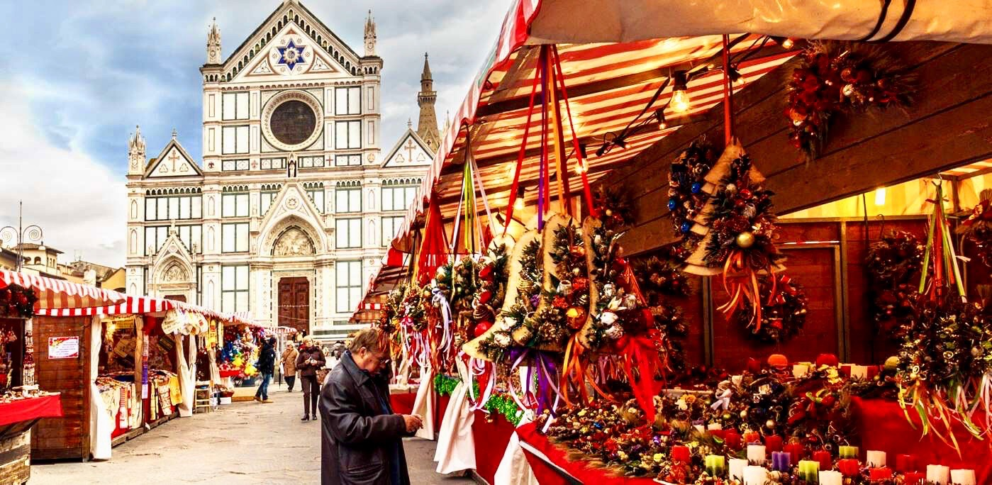 Christmas markets in Florence, Italy!