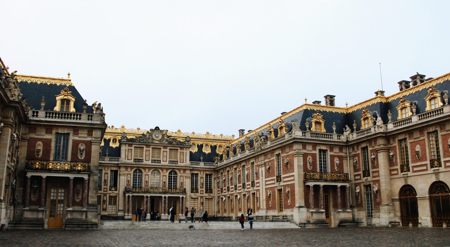 The Palace of Versailles outside of Paris, France!