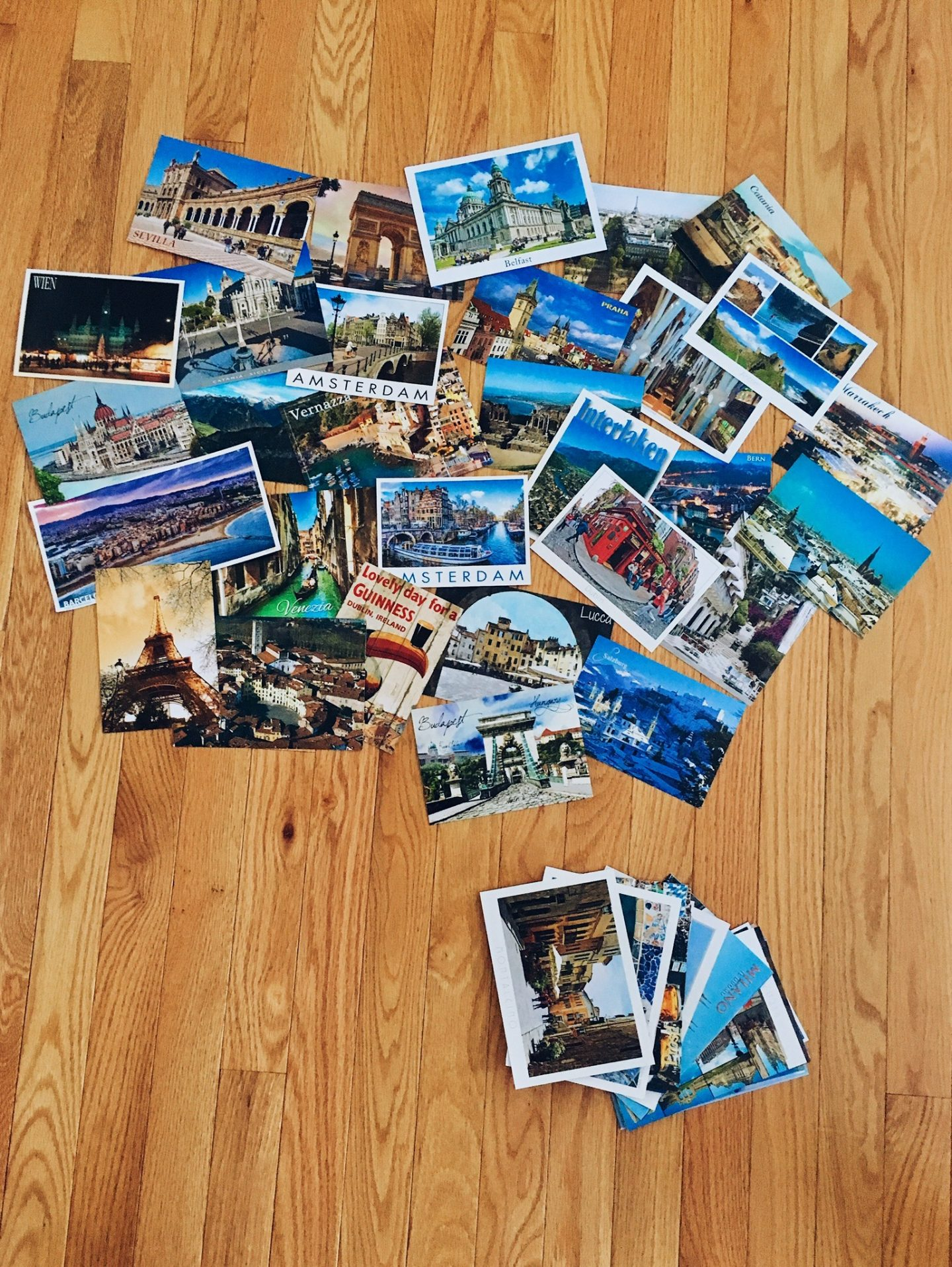 My full postcard collection!