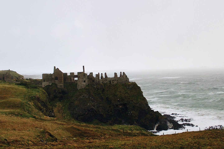 Dunluce Castle in Northern Ireland!