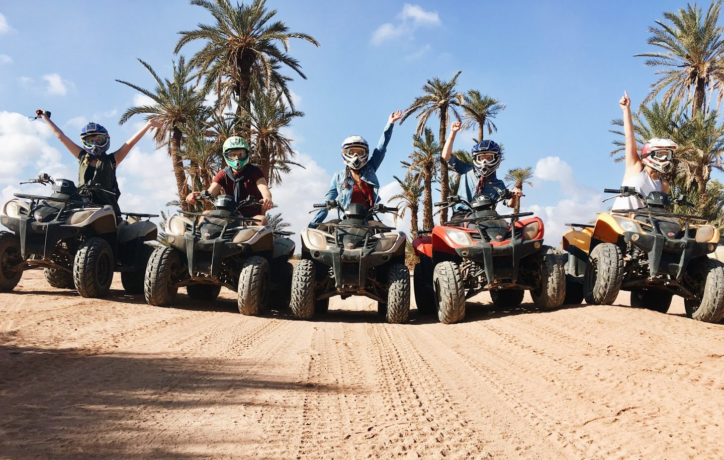ATVing in the Moroccan desert!