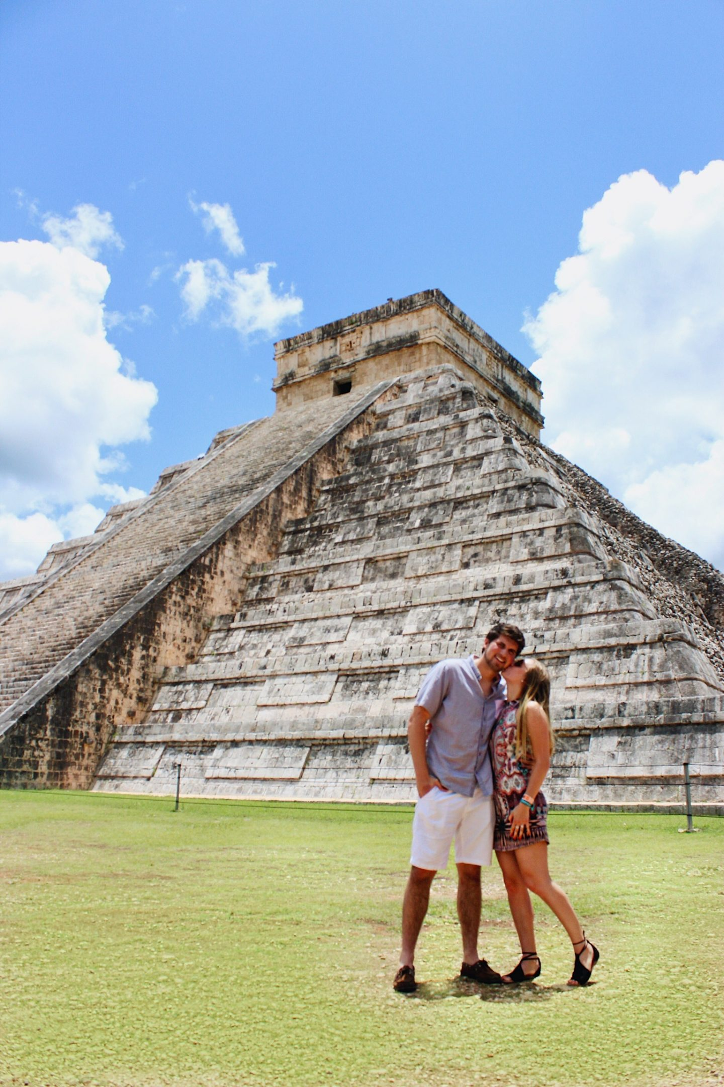 Visiting Chichen Itzá in Mexico with my boyfriend!