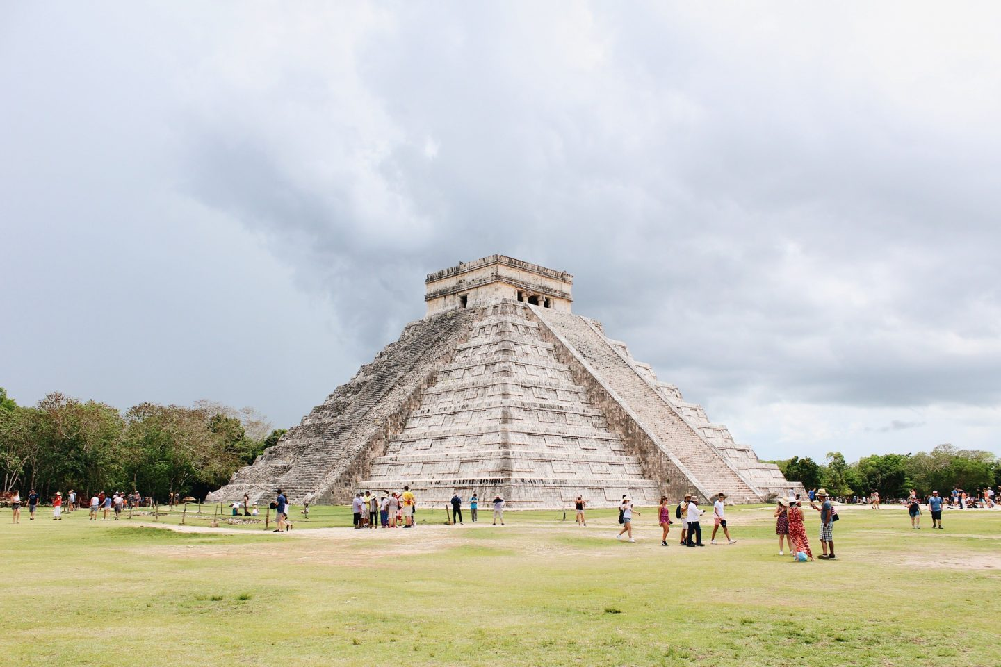 Visiting Chichen Itzá in Mexico!