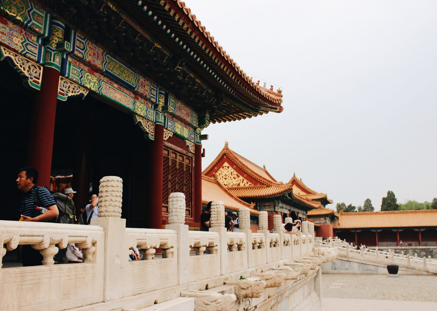 The Forbidden City in Beijing, China!