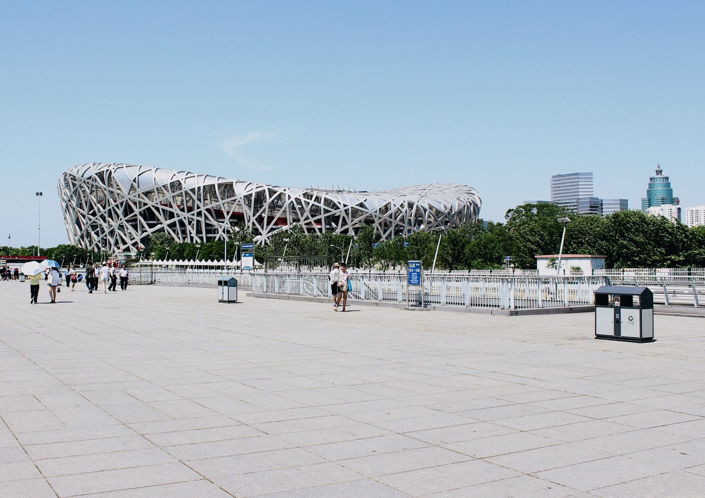 The Bird's Nest in Beijing's Olympic Park!