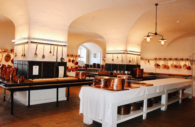 Royal Palace kitchen in Copenhagen, Denmark!