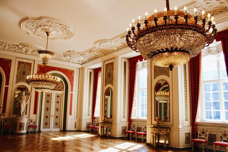 Royal Palace in Copenhagen, Denmark!