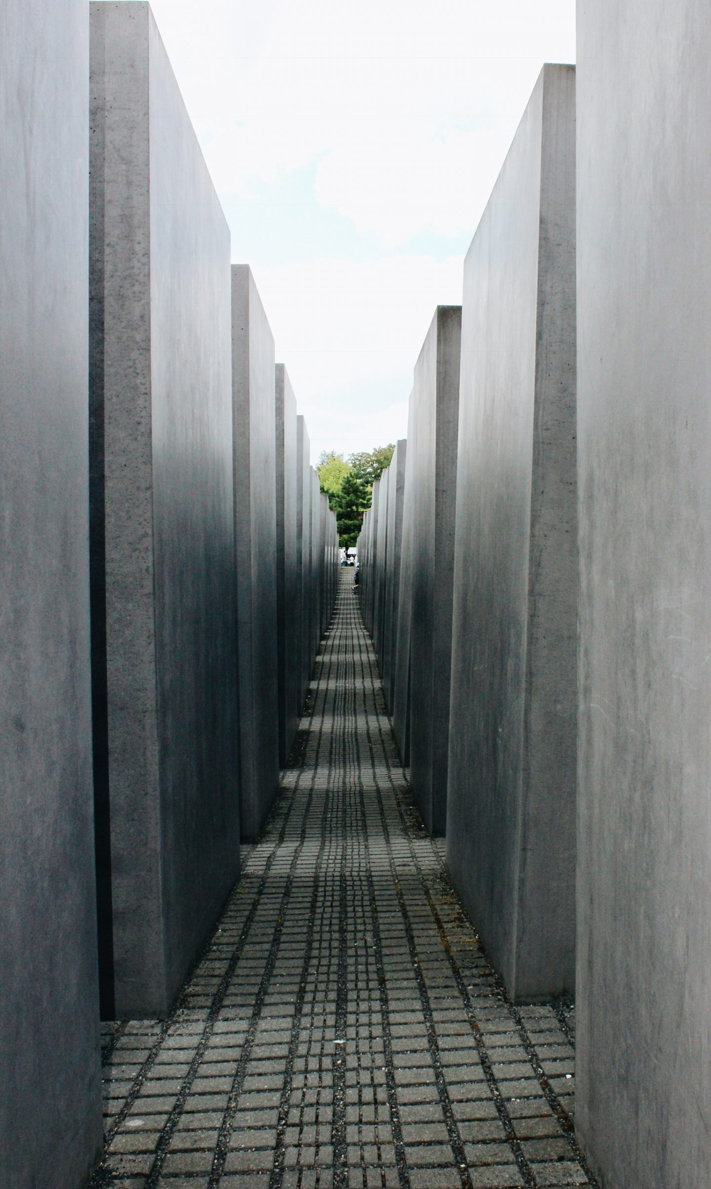 Memorial of the Murdered Jews of Europe in Berlin, Germany.