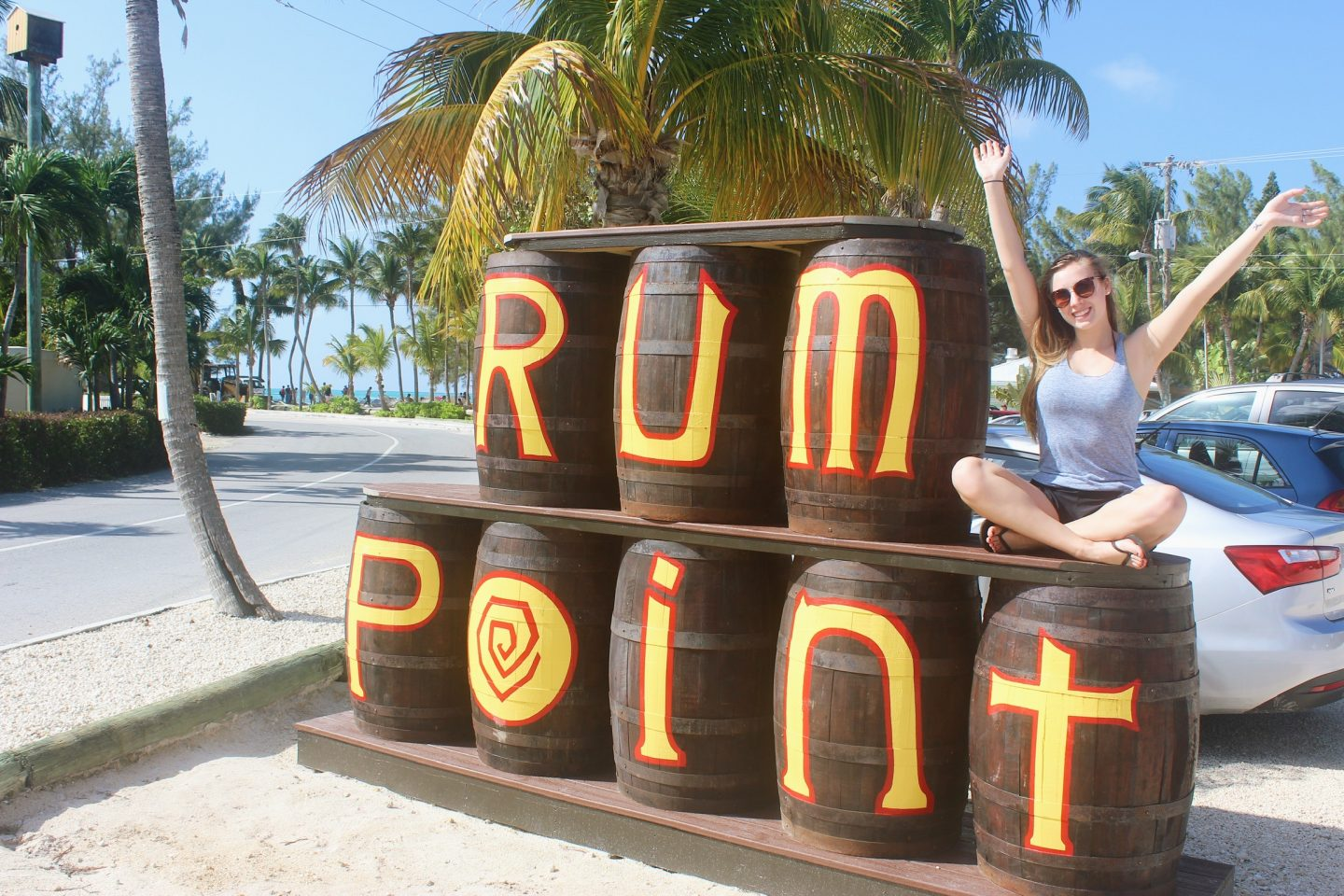 Spending the day at Rum Point in Grand Cayman!