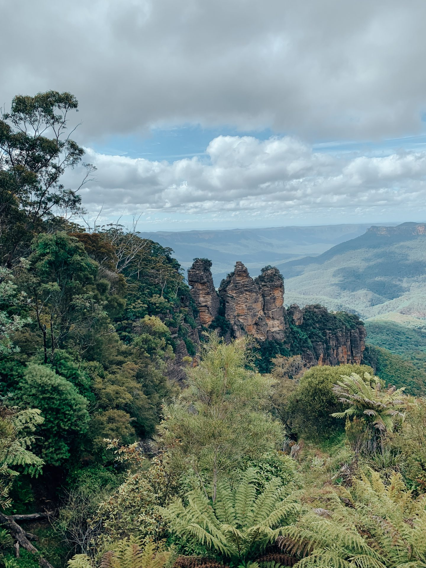 View of the Three Sisters in the Blue Mountains, NSW!