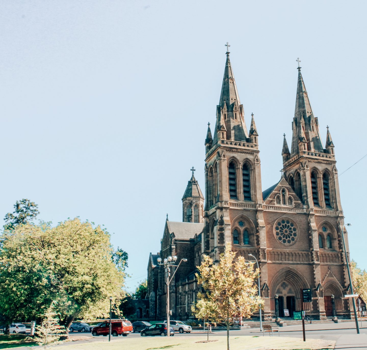 St. Peter's Church in Adelaide, South Australia!
