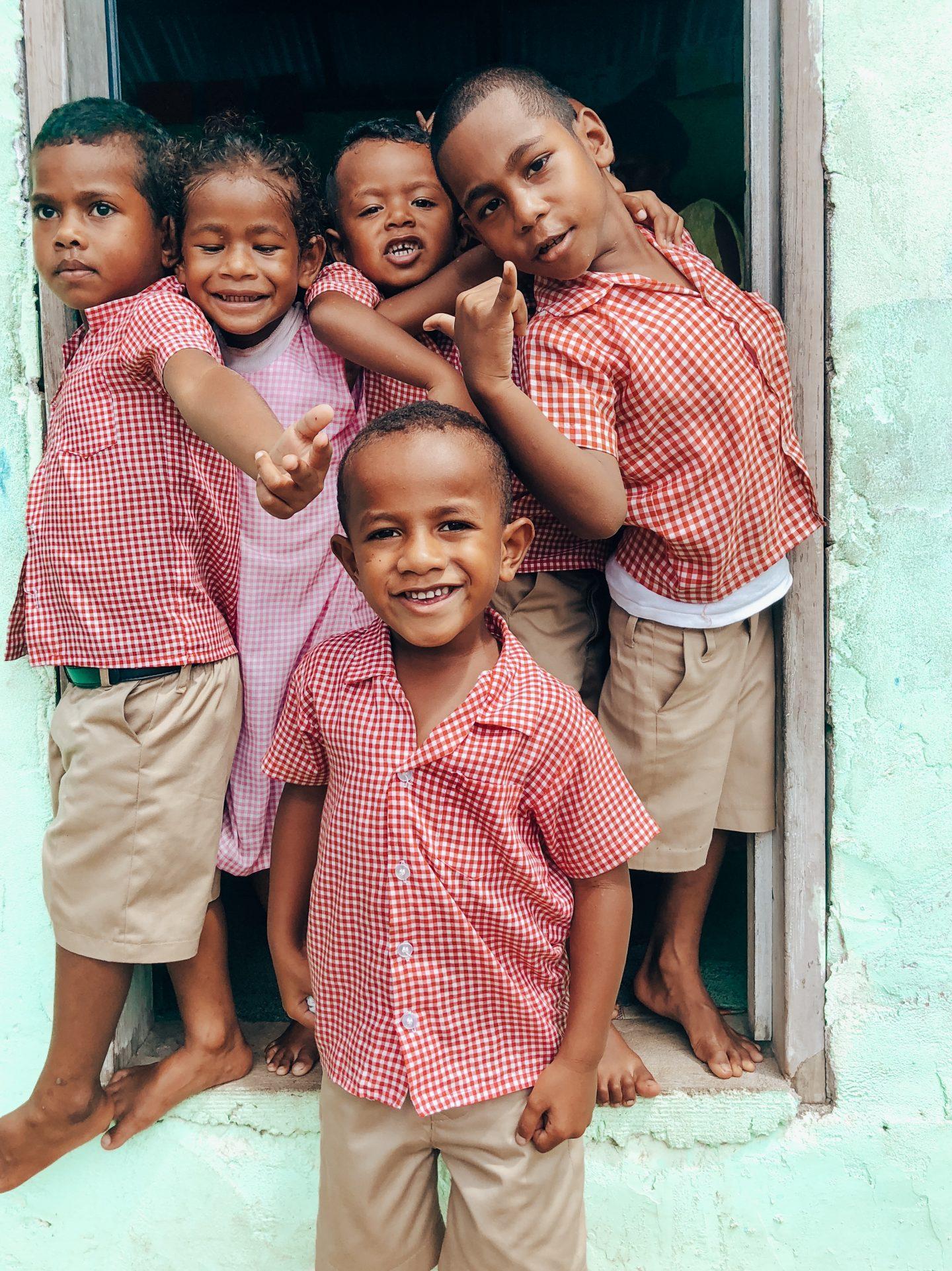 Visiting a local preschool in Nadi, Fiji!