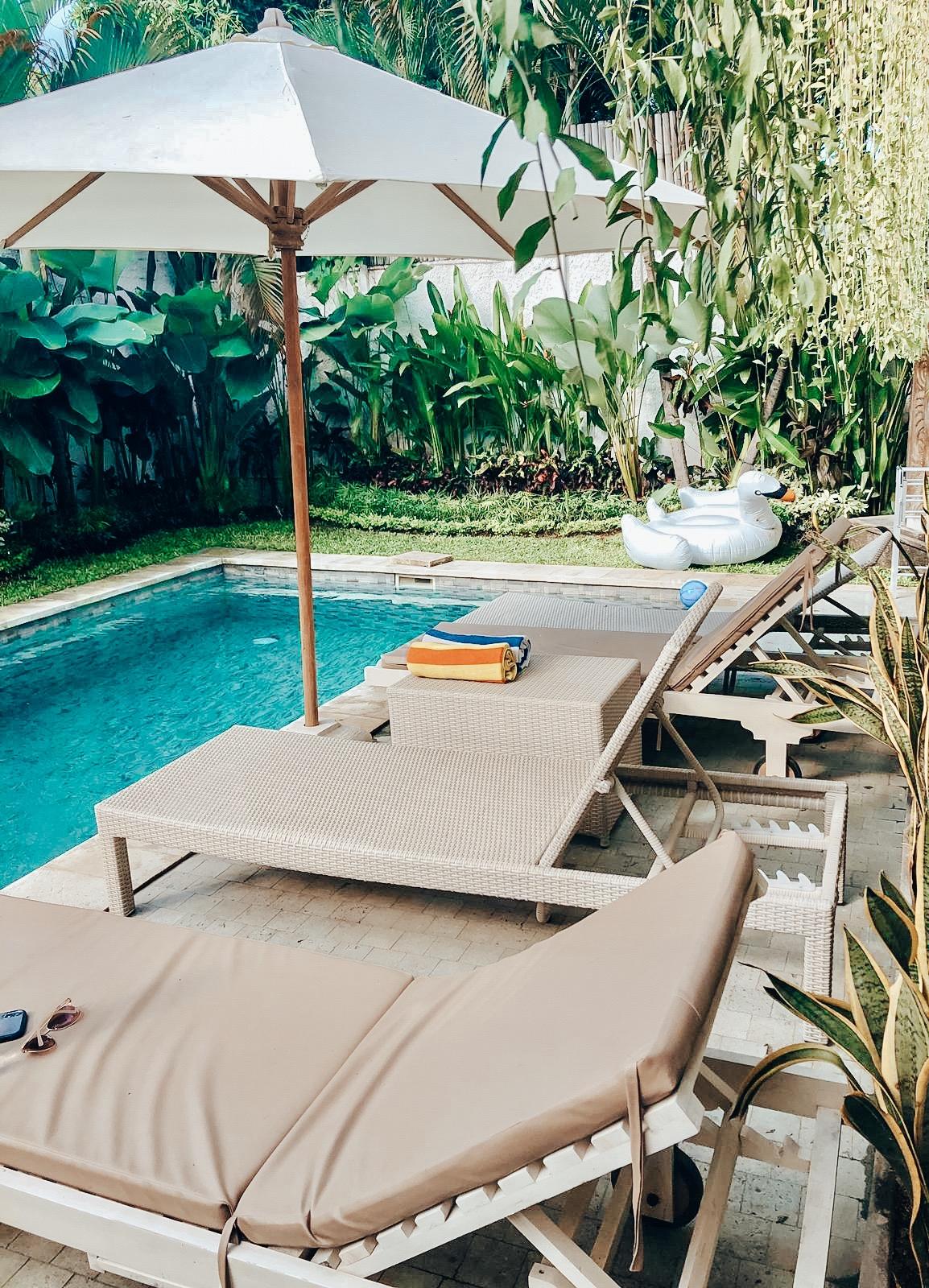 Our villa (airbnb) in Seminyak, Bali!