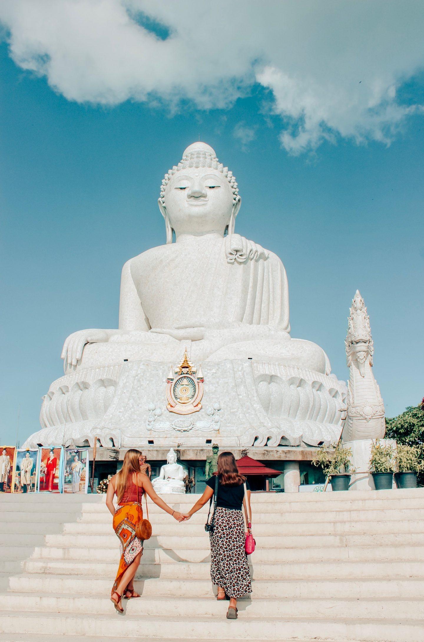 Exploring the Big Buddha temple in Phuket, Thailand!
