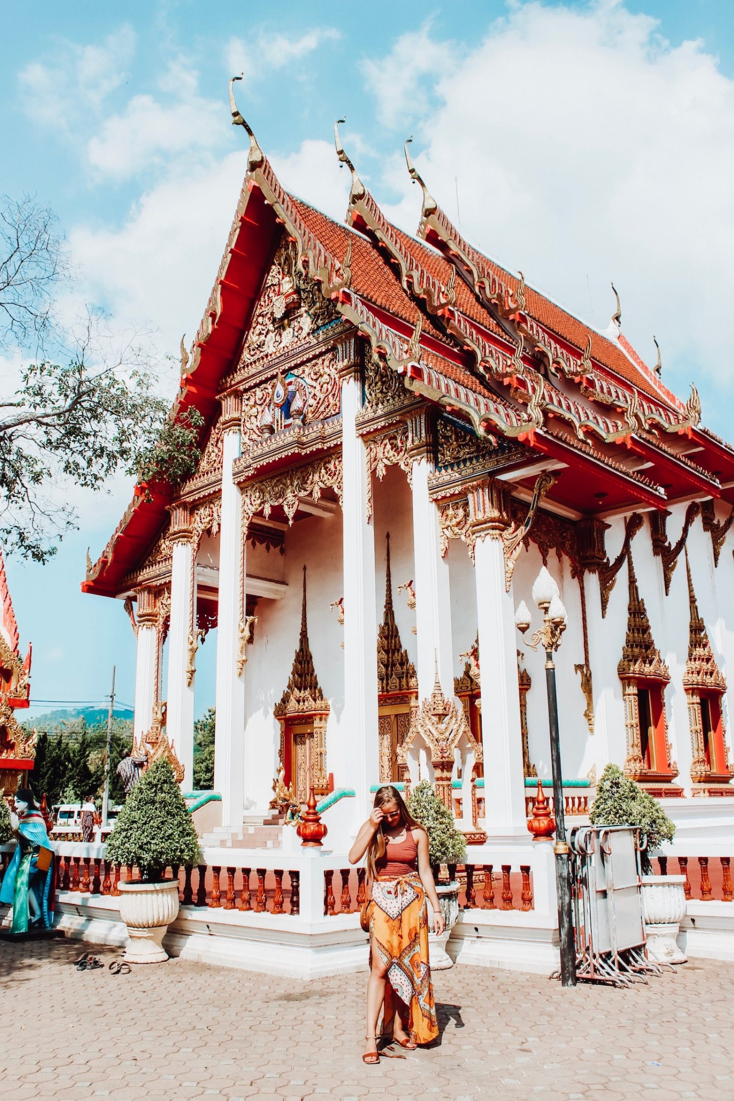 Exploring the Wat Chalong temple in Phuket, Thailand!