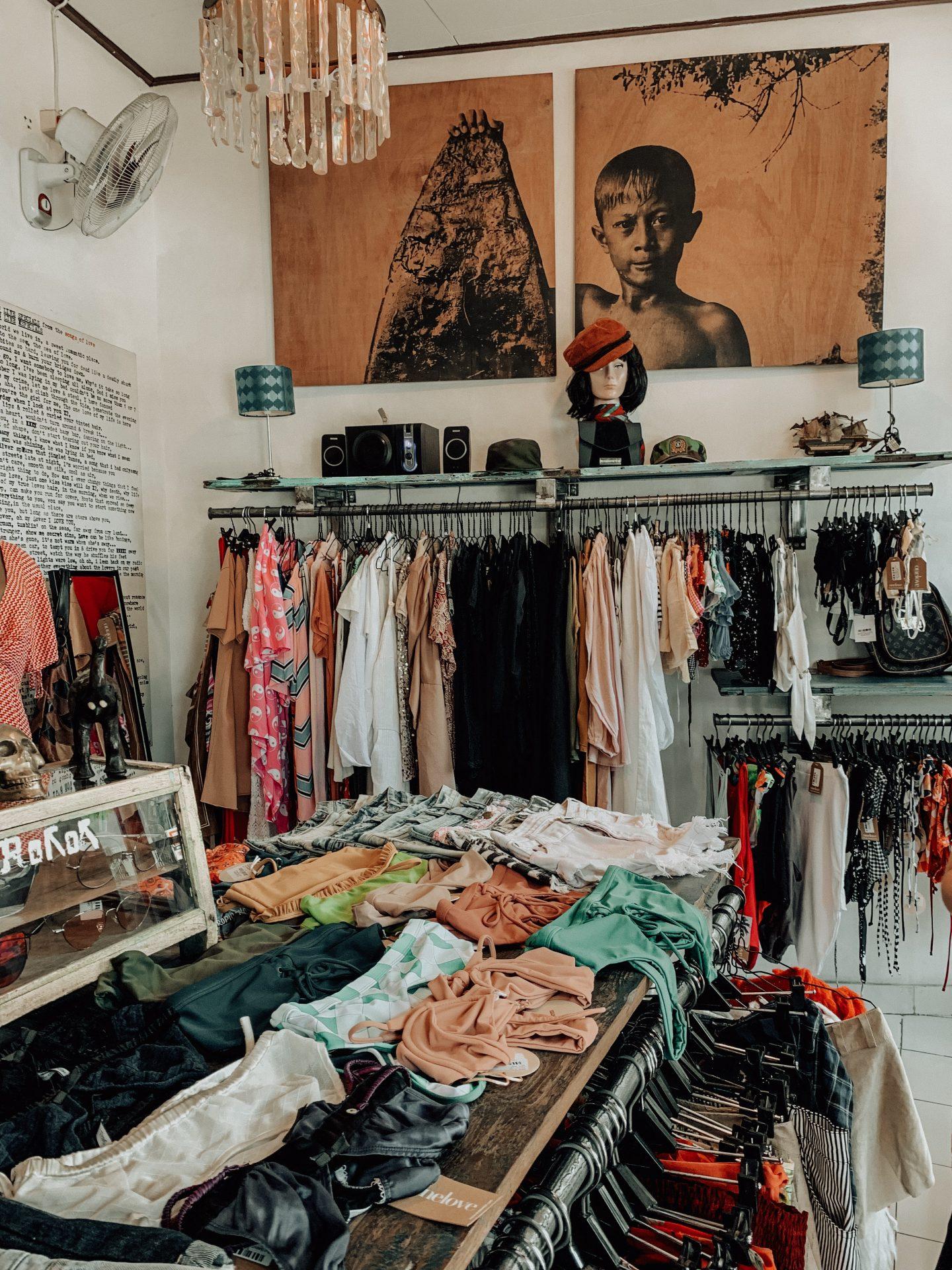 Vintage shop in Canggu, Bali!