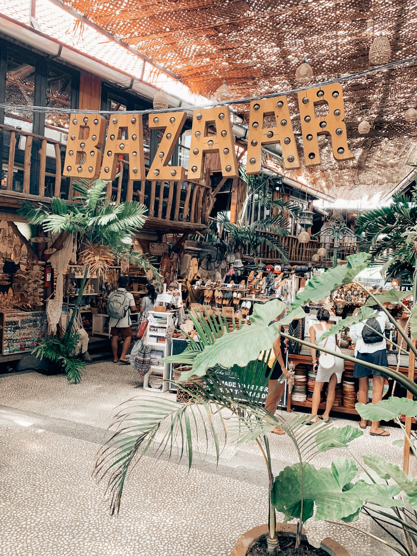 Local bazaar in Canggu, Bali!