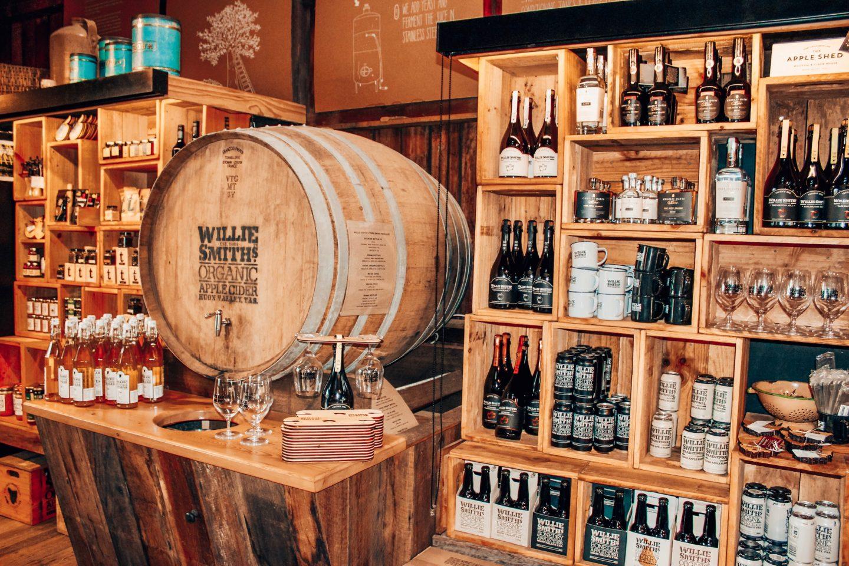 Huon Valley cider tasting in Tasmania, Australia!
