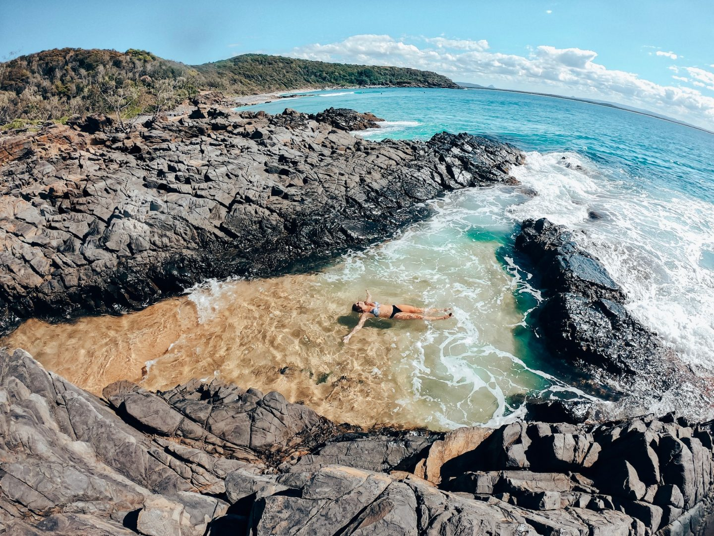 Exploring the Fairy Pools in Noosa, Sunshine Coast!