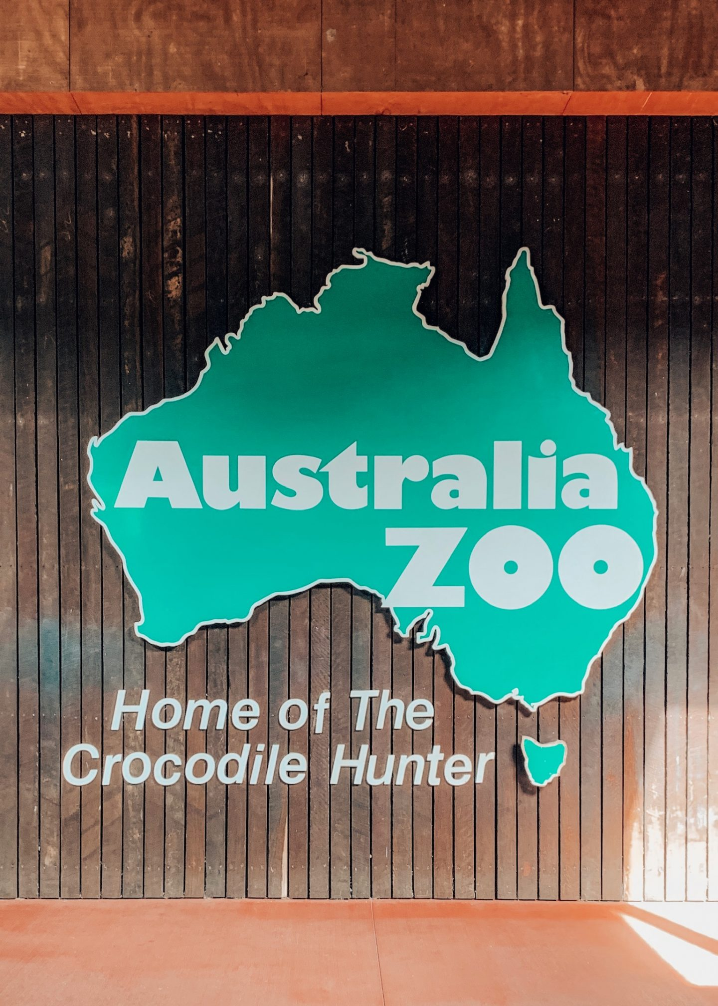 Visiting the Australia Zoo in the Sunshine Coast!