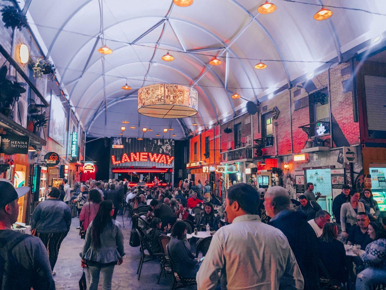 Eat Street Northshore in Brisbane, Australia.