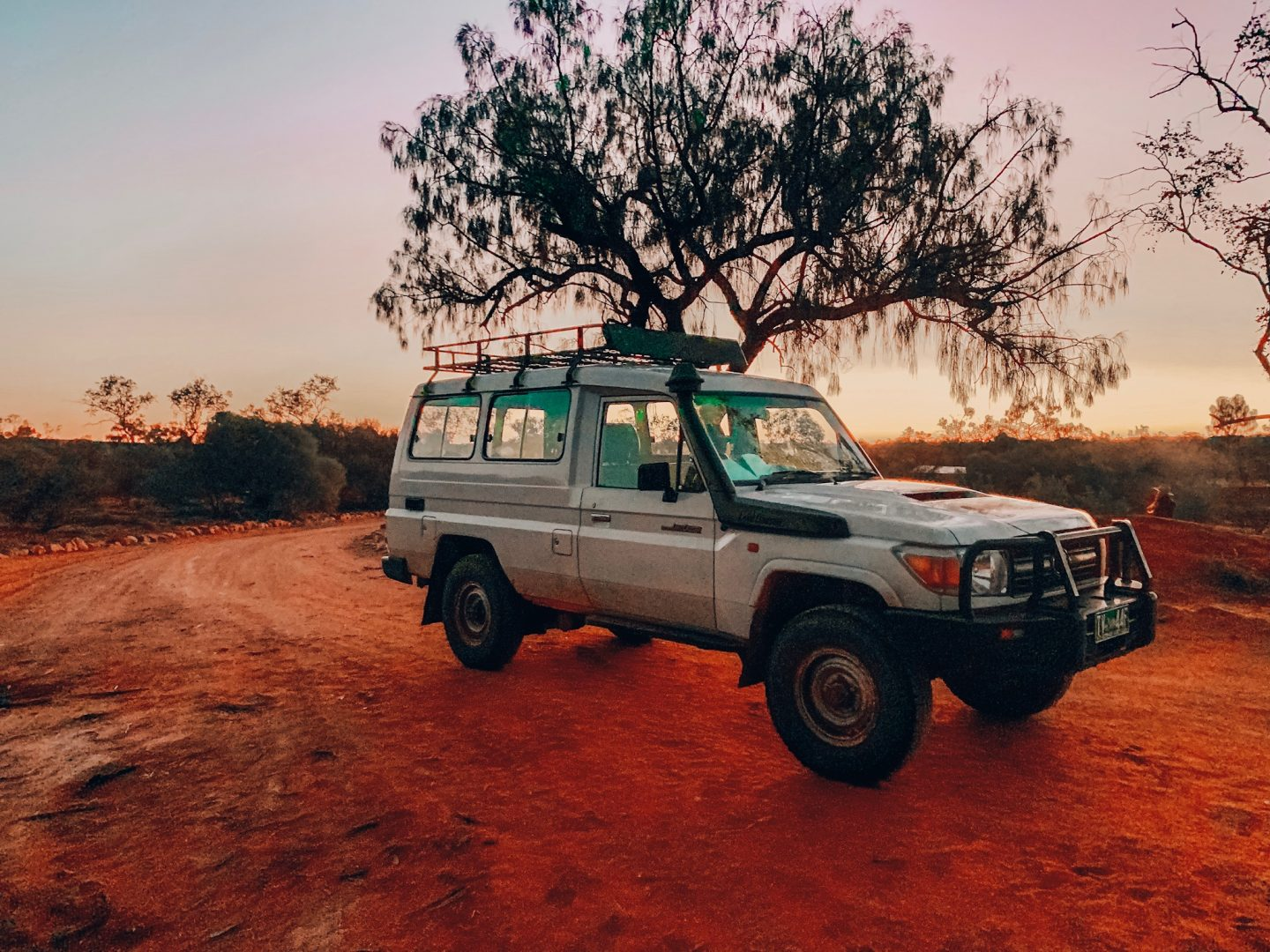 Our campsite at Kings Canyon in the Outback, Australia.