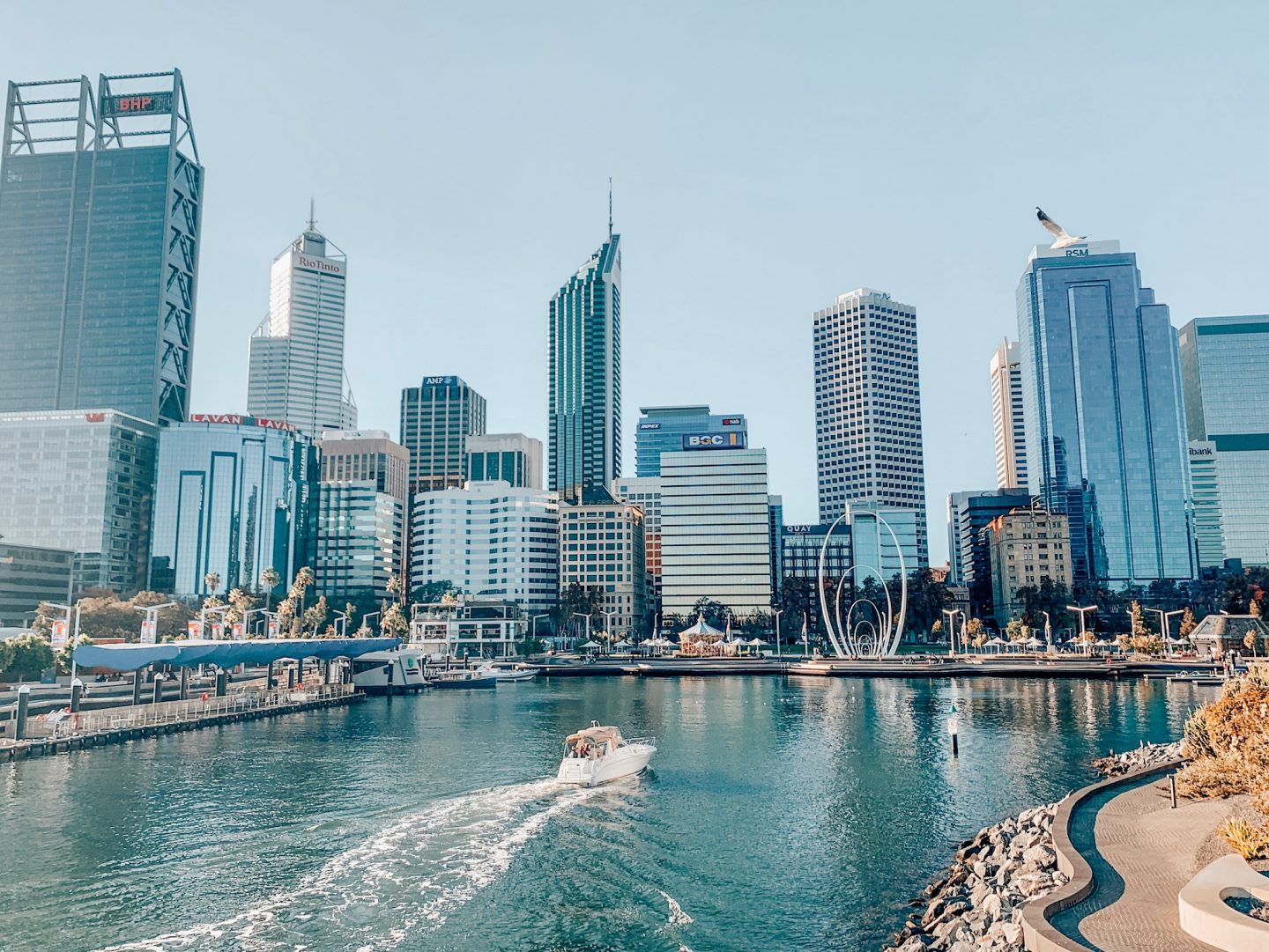 Photo of Perth's skyline