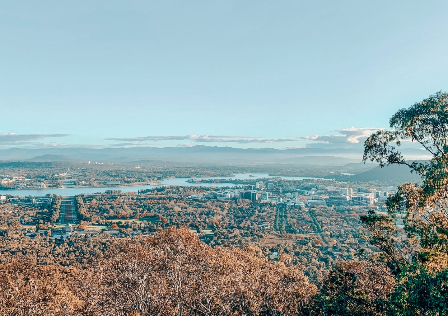 View overlooking Canberra
