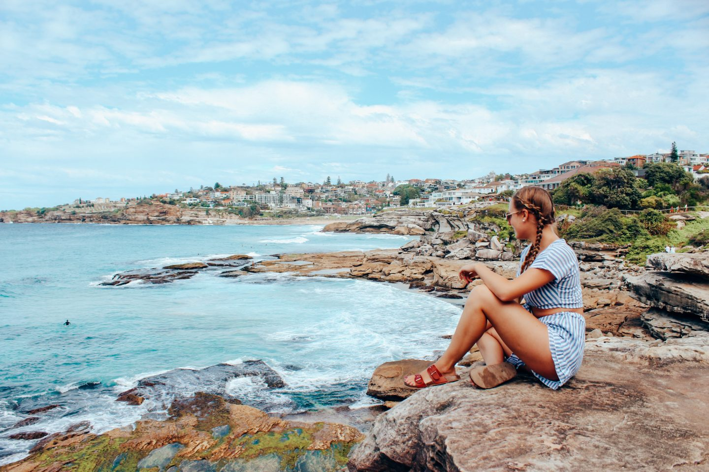 Bondi to Coogee coastal walk in Sydney