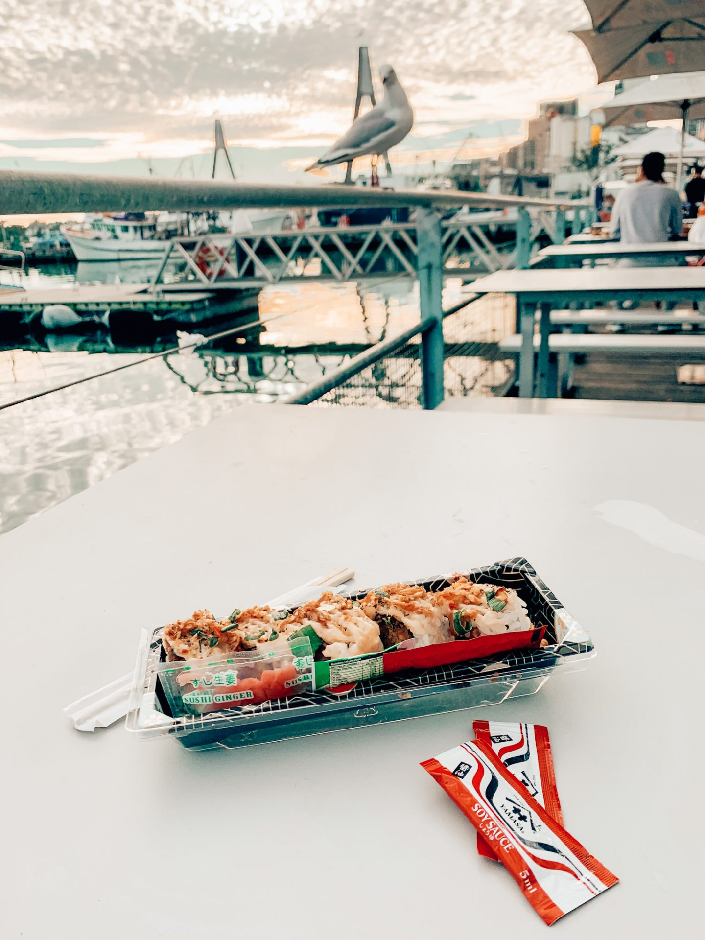 Sushi from Sydney's fish market