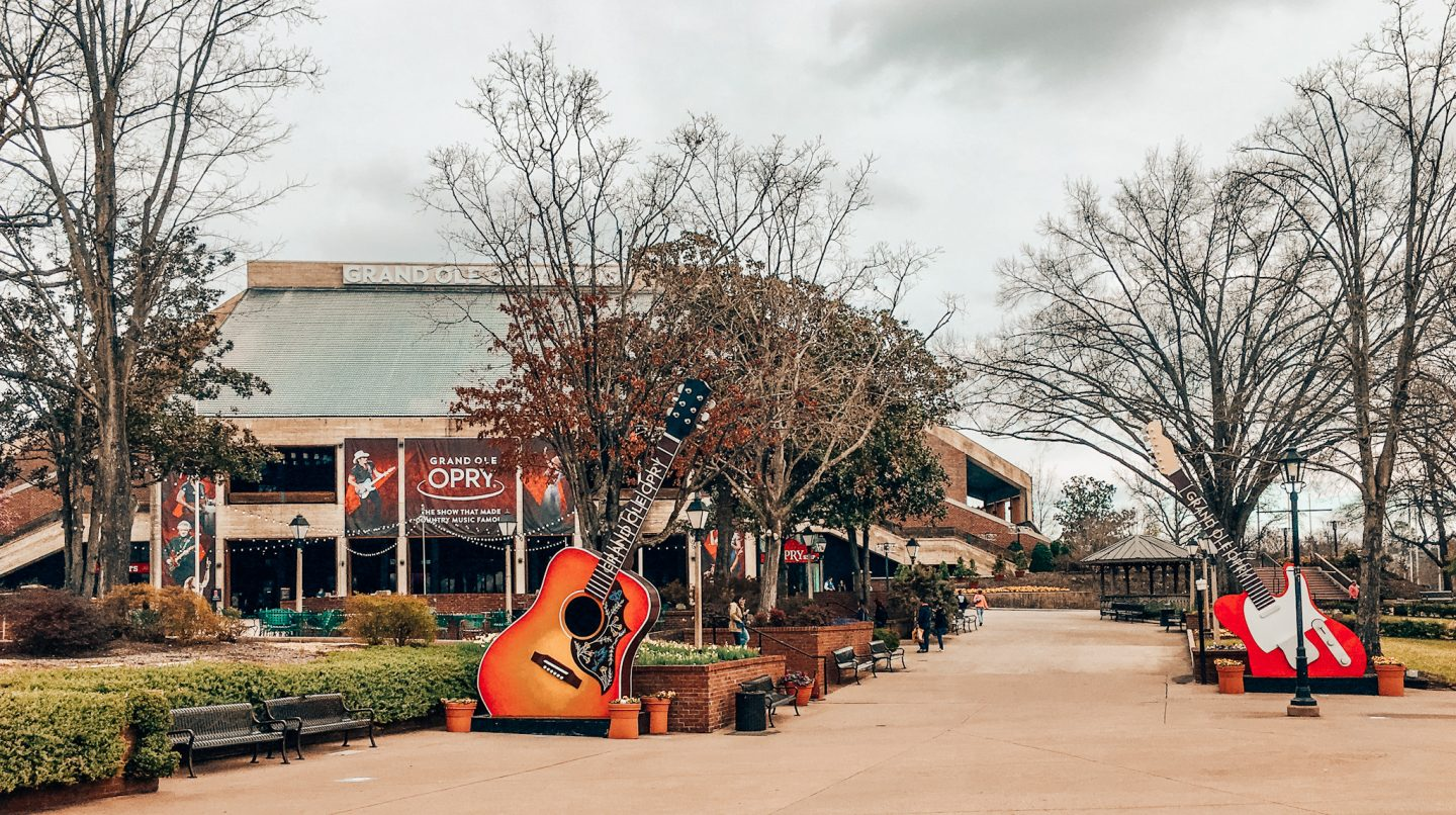 Entrance to the Grand Ole Opry in Opryland, Nashville