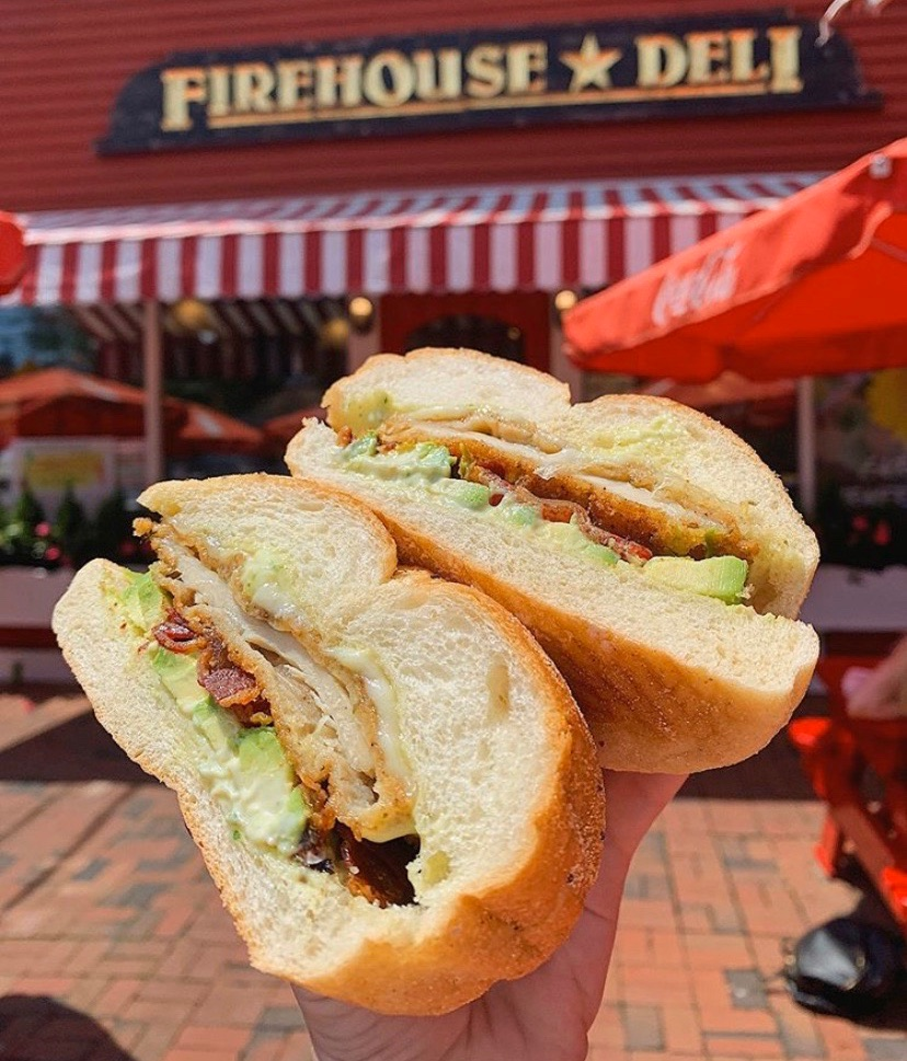 Straight fire (house) | The RedGate from the one and only Firehouse Deli
