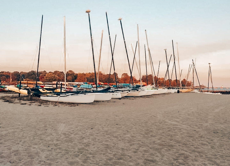 Jennings Beach in Fairfield, CT