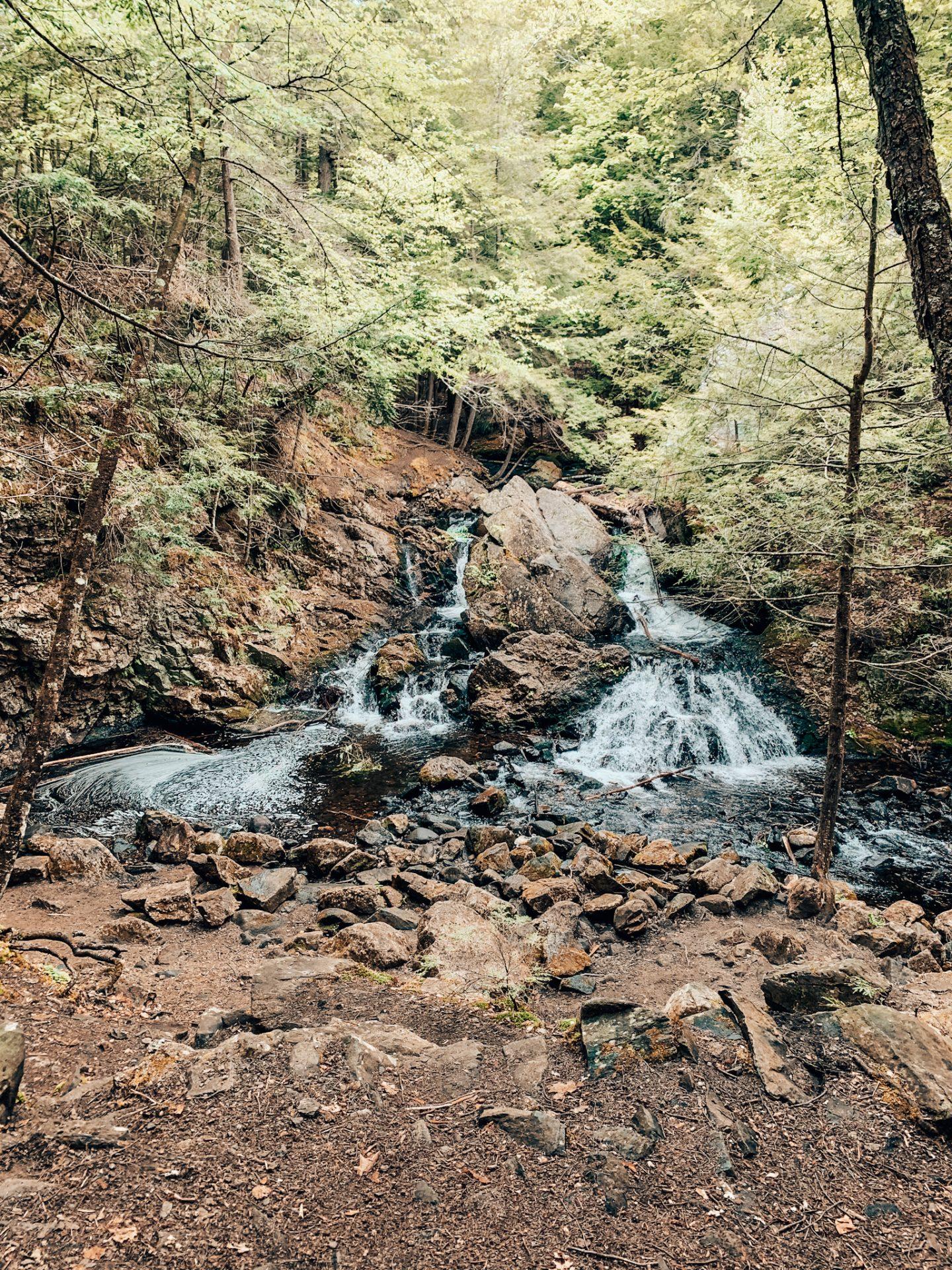 Bear's Den Hike near the Quabbin in Western MA