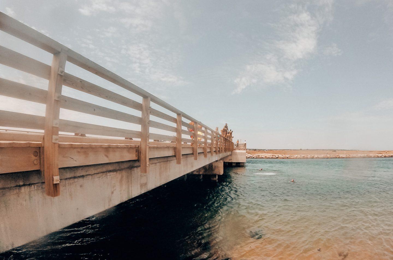 Jaws Bridge in Edgartown, Martha's Vineyard