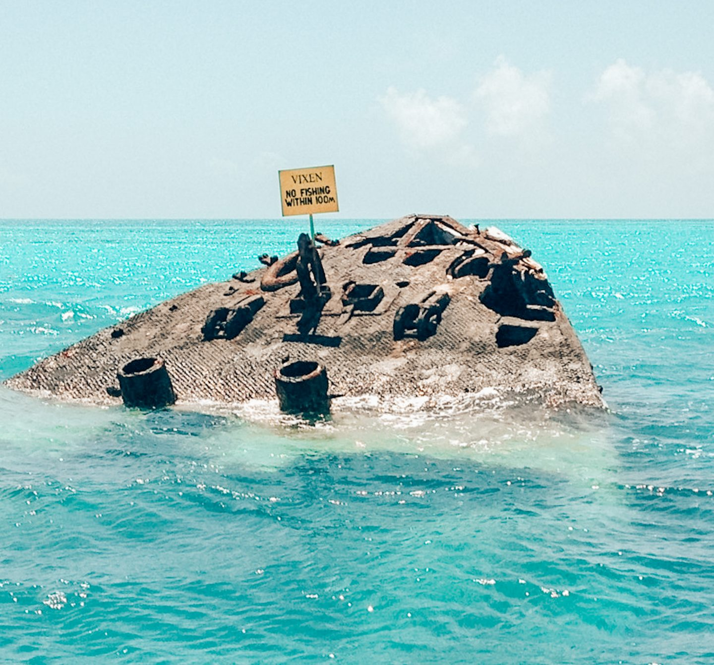 One of the Bermuda Triangle's famous shipwrecks
