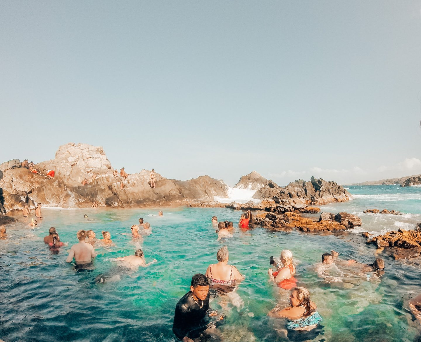 Aruba's Conchi natural pool