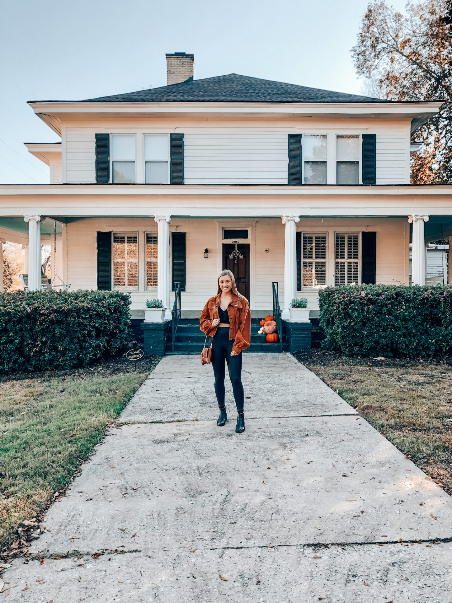 Elena's house in the Vampire Diaries