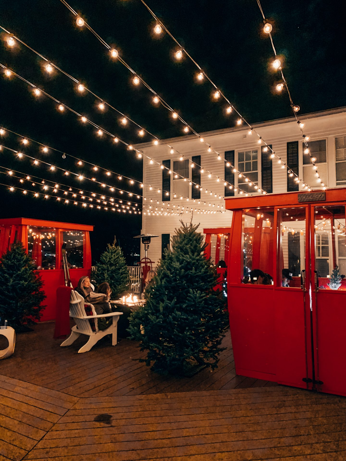 The Kennebunkport Inn during the holidays in New England