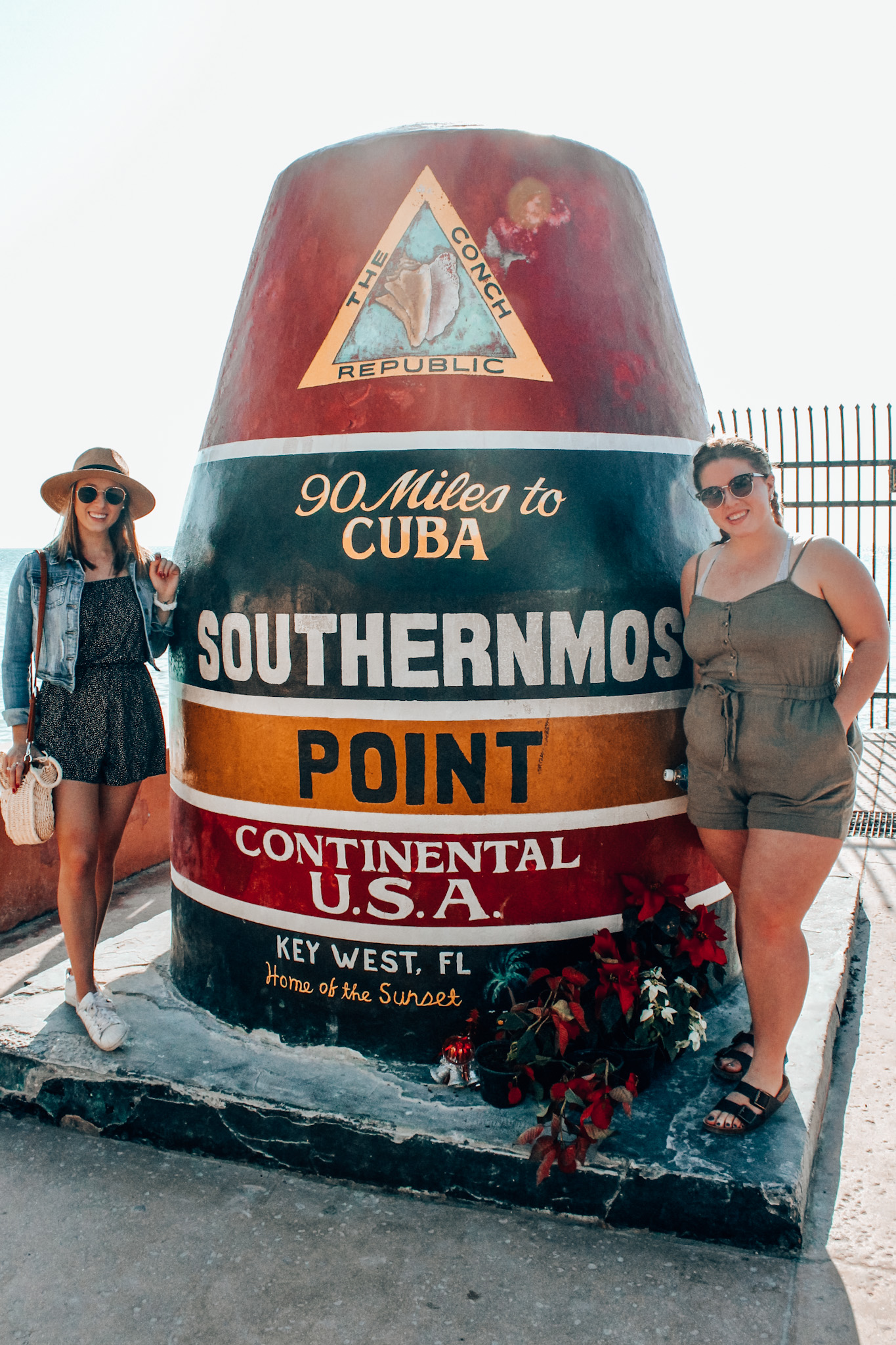 The southernmost point in Continental USA!