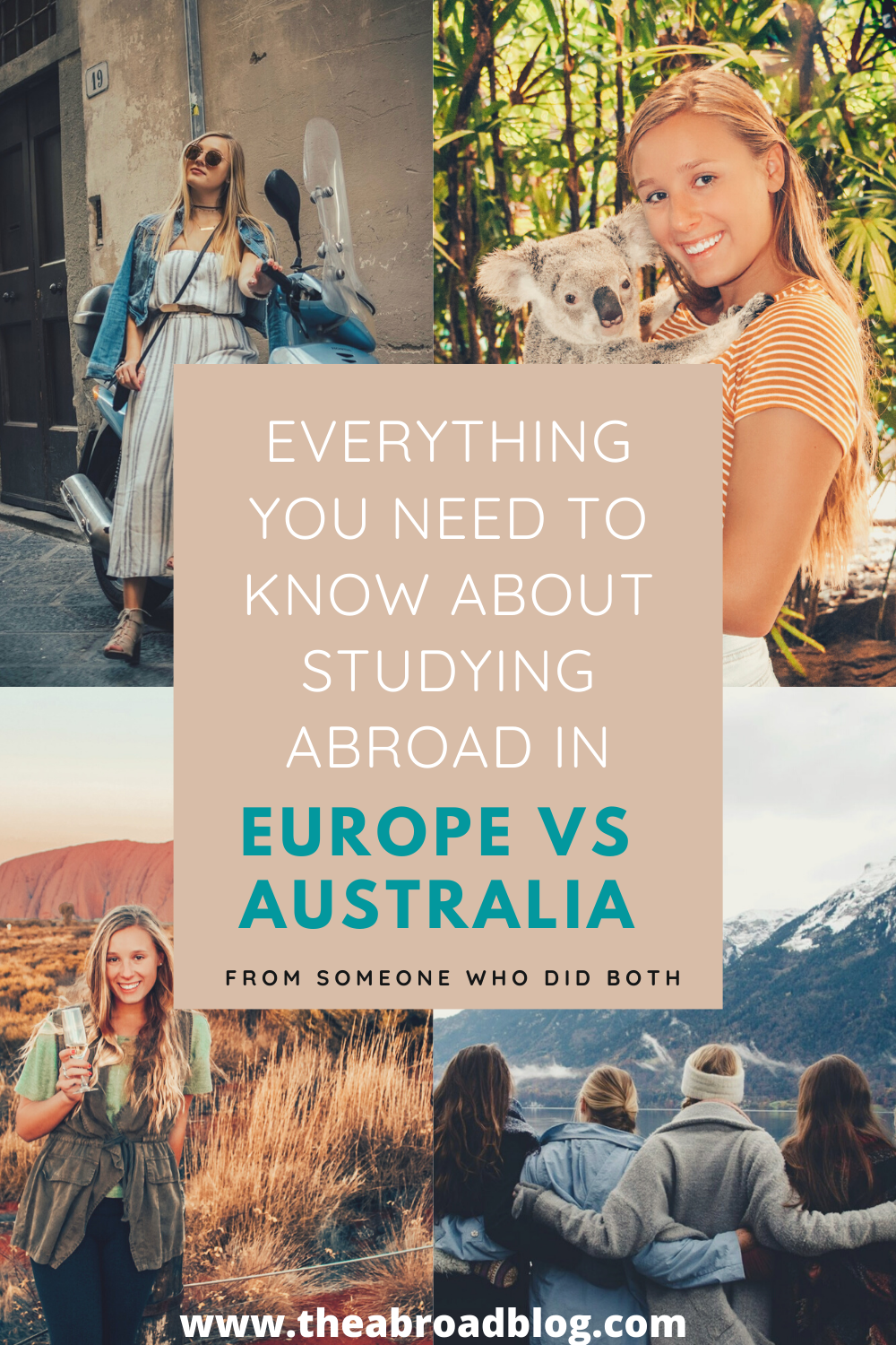 Everything you need to know about studying abroad in Europe vs. Australia from the girl who did both